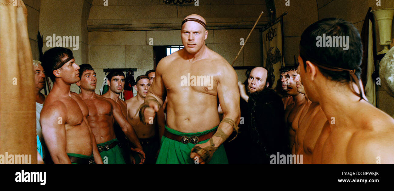 NATHAN JONES ASTERIX AT THE OLYMPIC GAMES (2008) Stock Photo