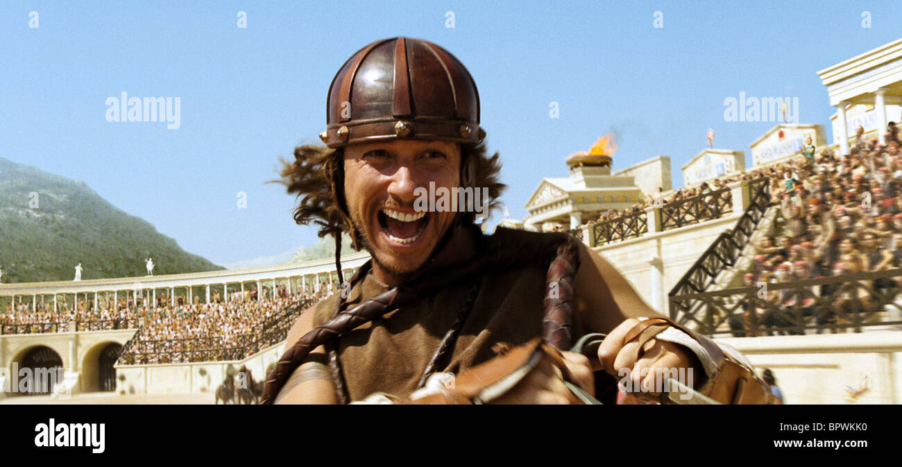 STEPHANE ROUSSEAU ASTERIX AT THE OLYMPIC GAMES (2008) - Stock Image