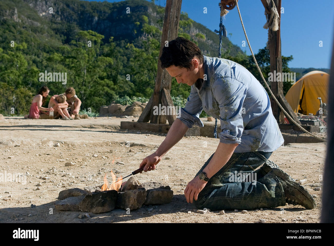 JONATHAN TUCKER THE RUINS (2008) - Stock Image