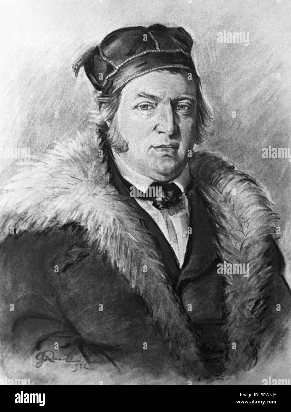 Vasily Struve (1793-1864) - Stock Image