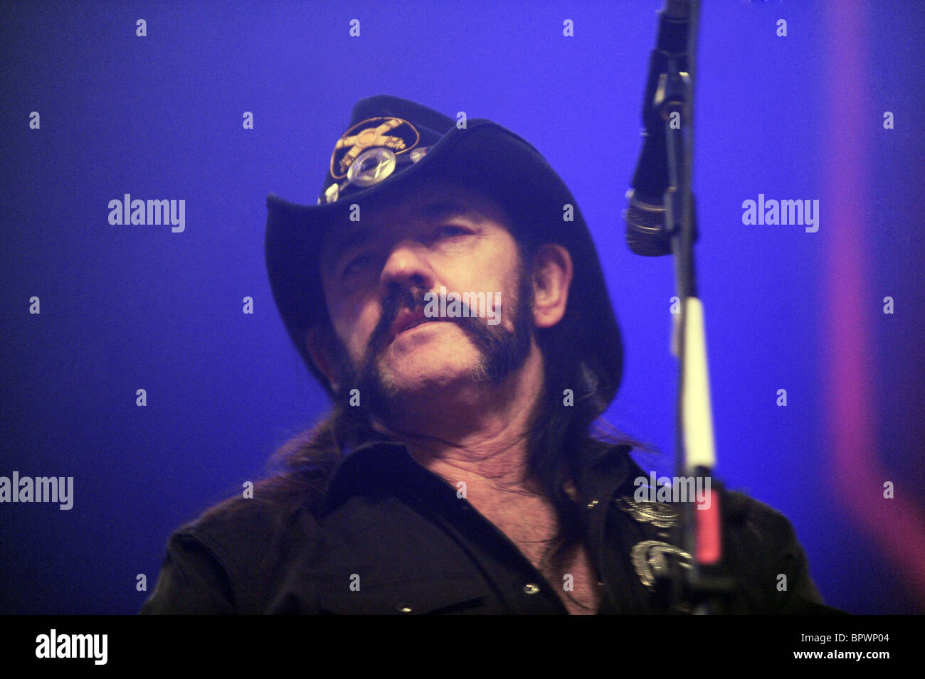British heavy metal band Motorhead come to Moscow Stock