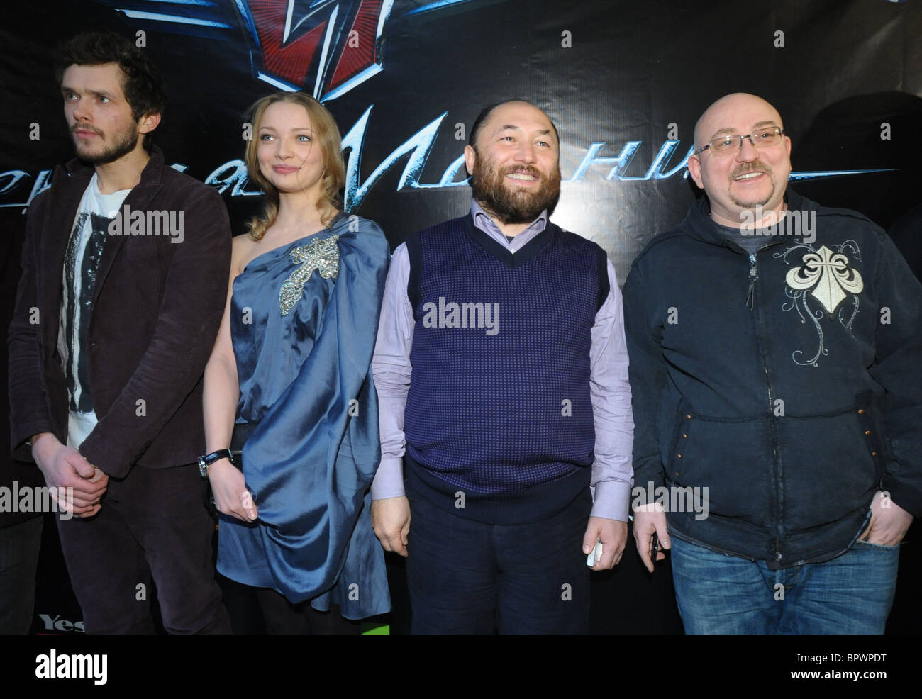 Voitinsky's new sci-fi action film Black Arrow receives its Russian premiere Stock Photo