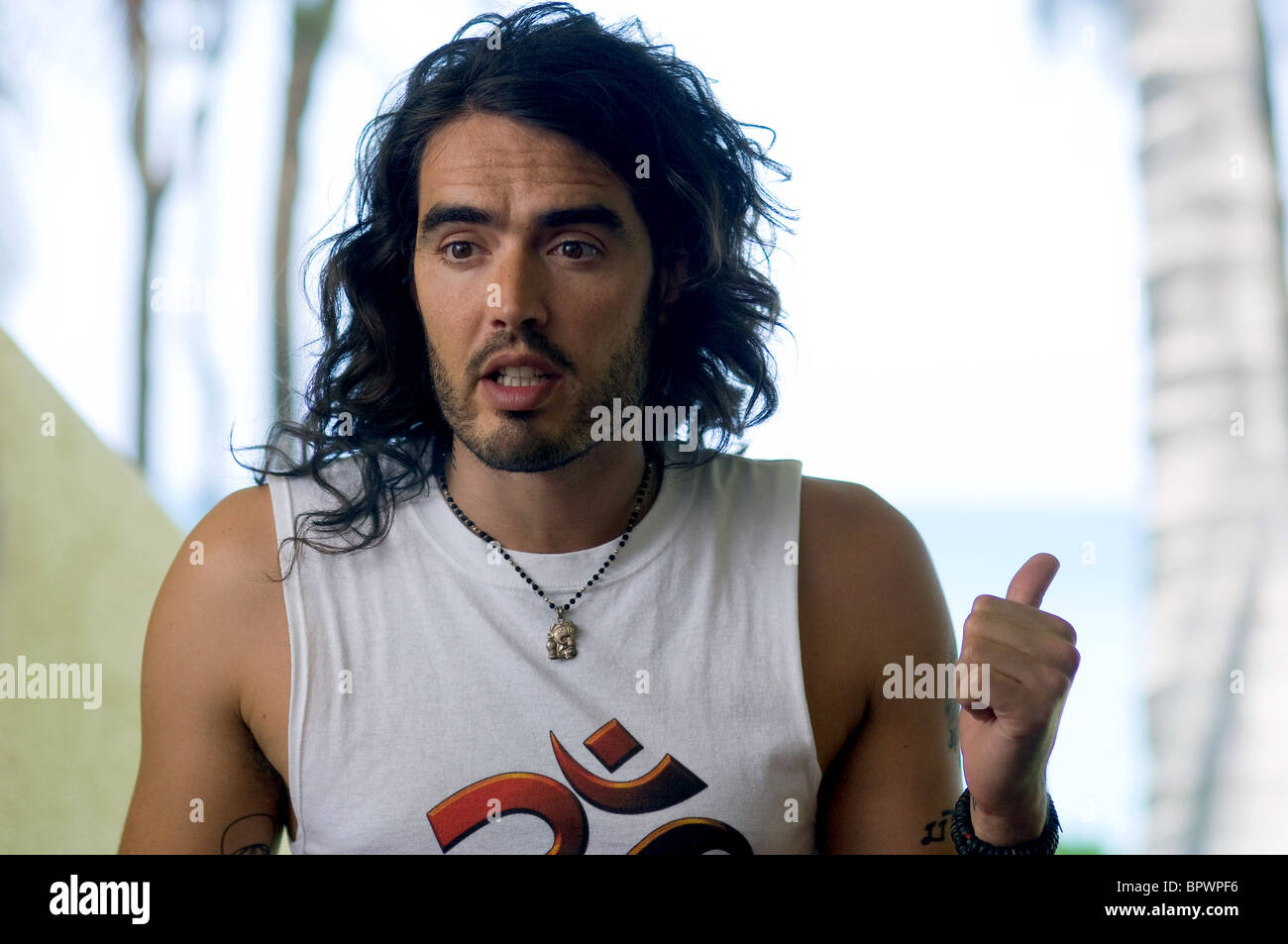 Russell Brand Forgetting Sarah Marshall 2008 Stock Photo 31299274