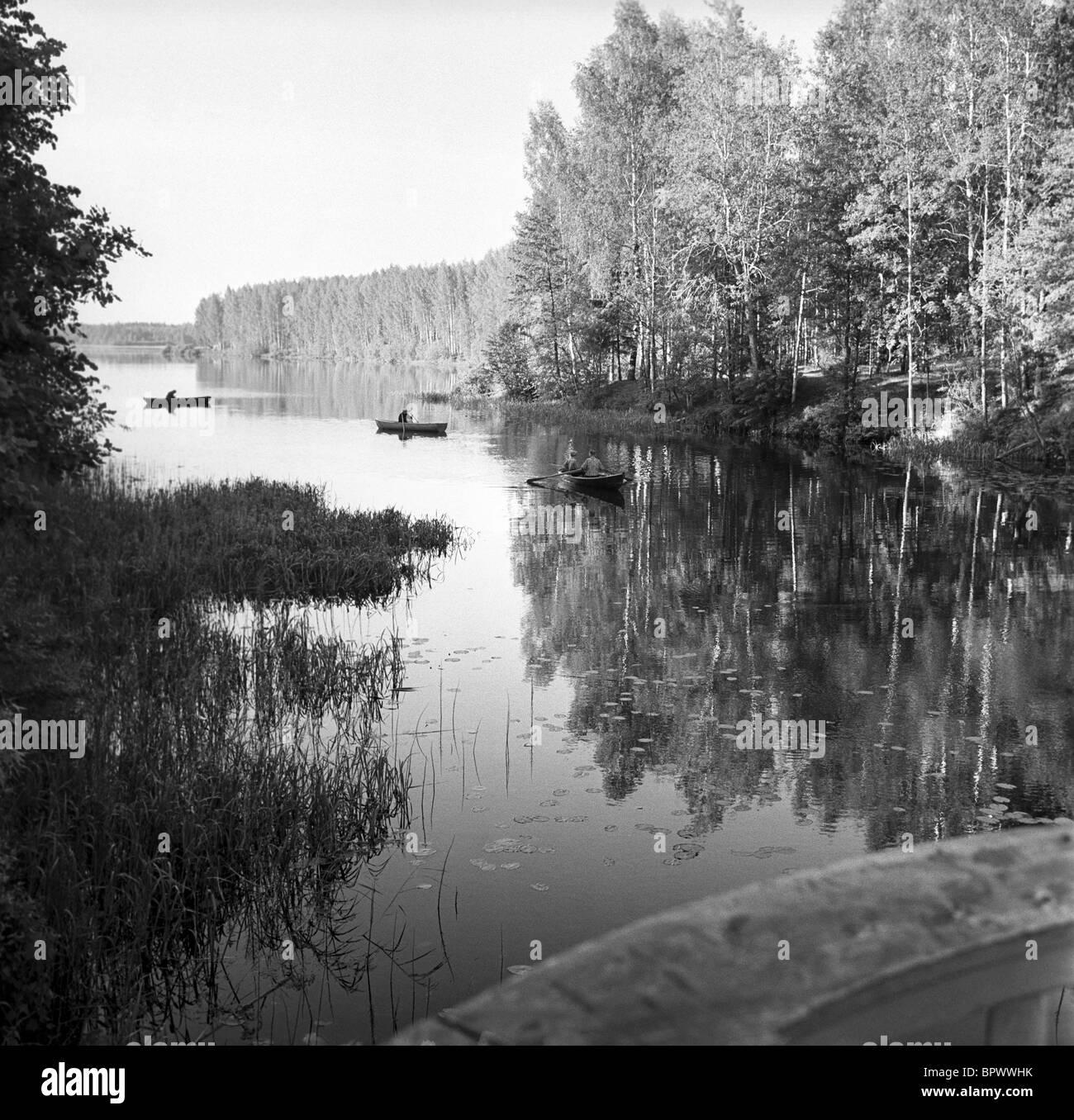 Wolczyn Lake, 1995 - Stock Image