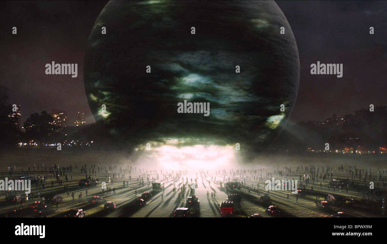 CELESTIAL ORB THE DAY THE EARTH STOOD STILL (2008) - Stock Image