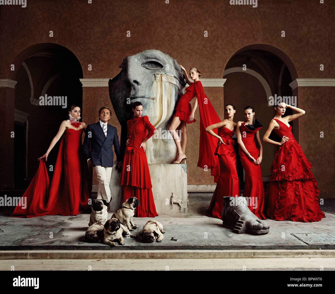 VALENTINO VALENTINO: THE LAST EMPEROR (2008) - Stock Image