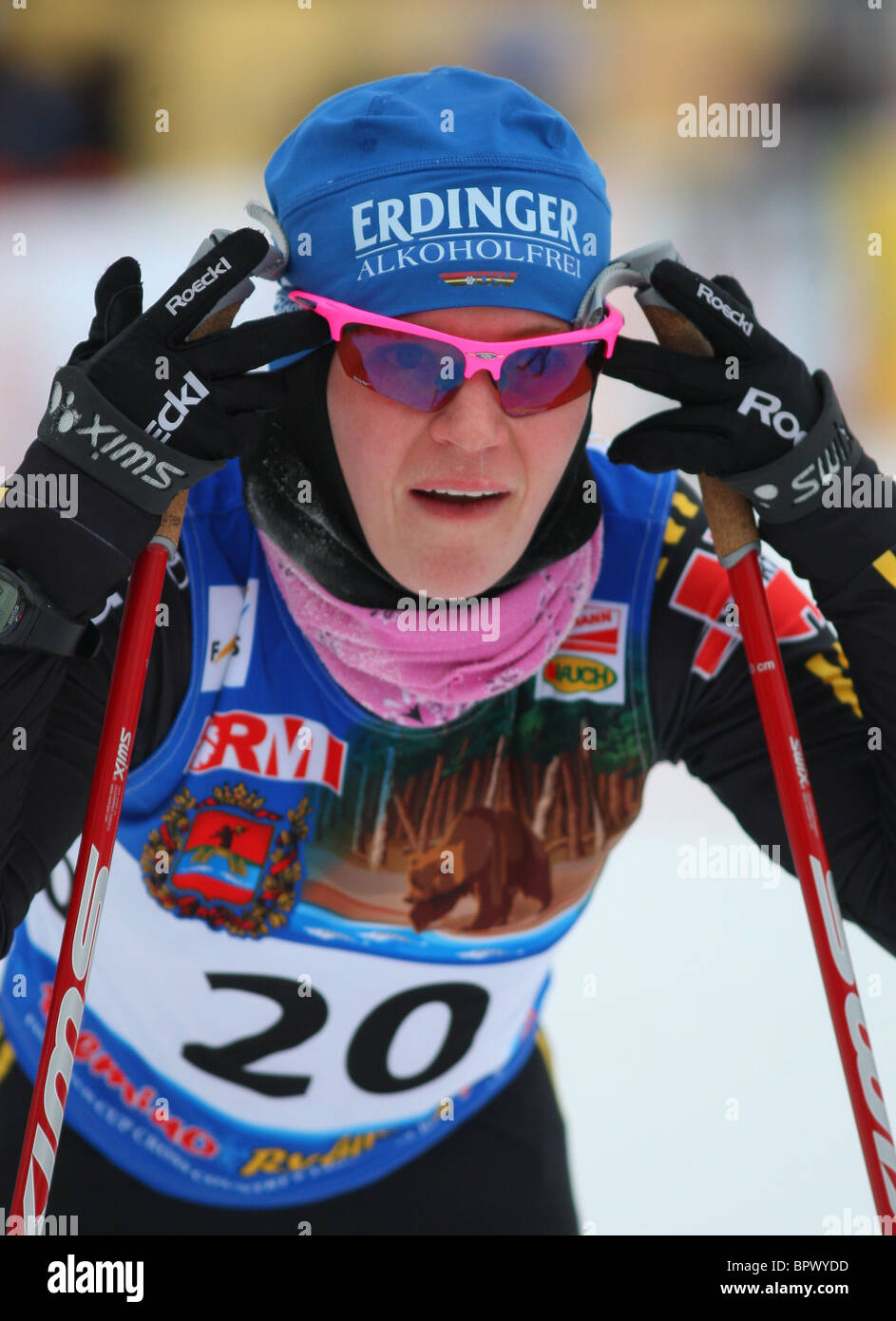 FIS World Cup - Stock Image