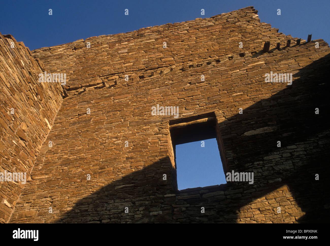 Chaco Canyon Stock Photo