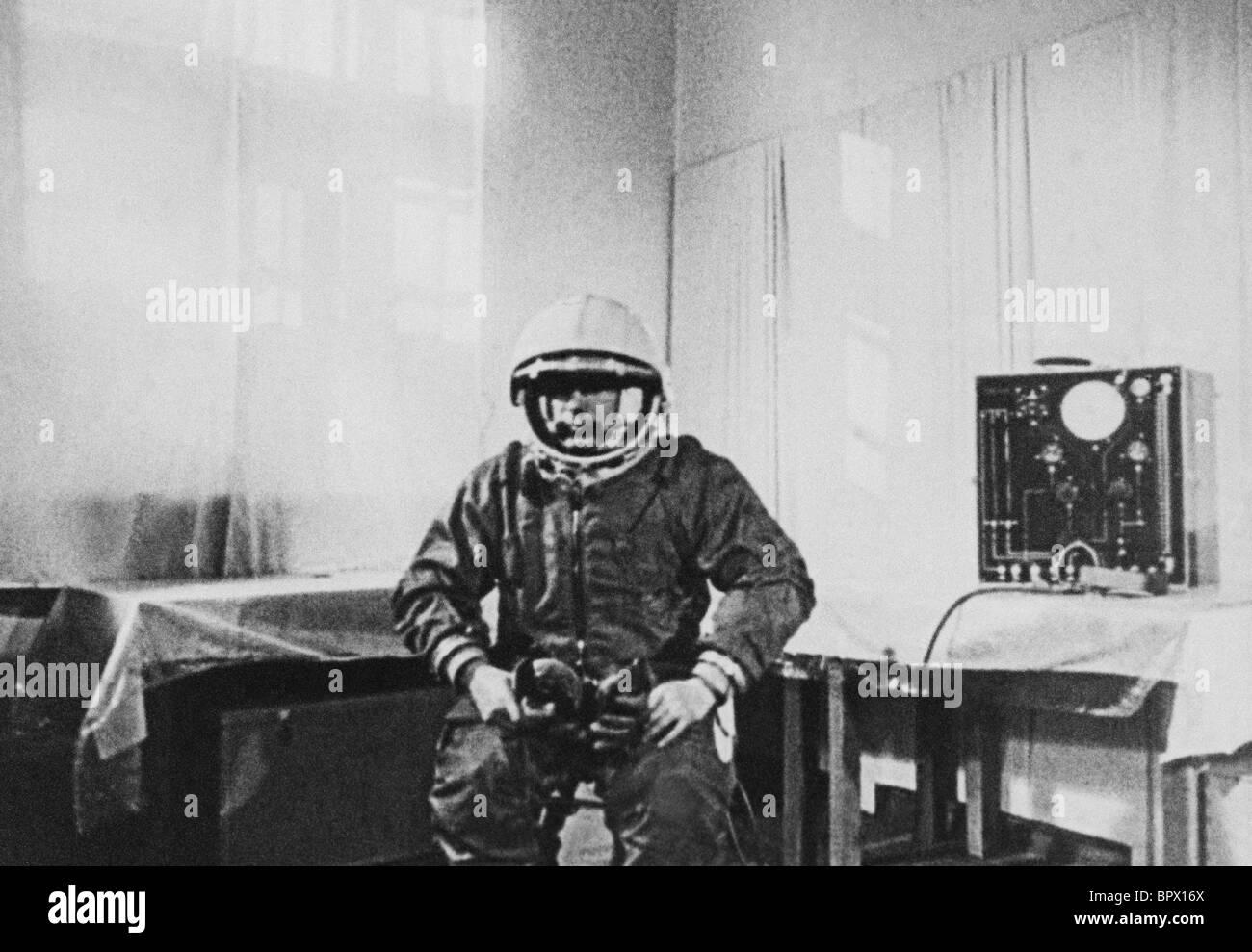 Yuri Gagarin, 1961 - Stock Image