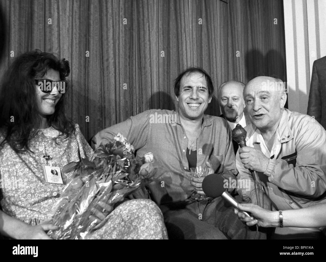 Adriano Celentano, 1987 - Stock Image