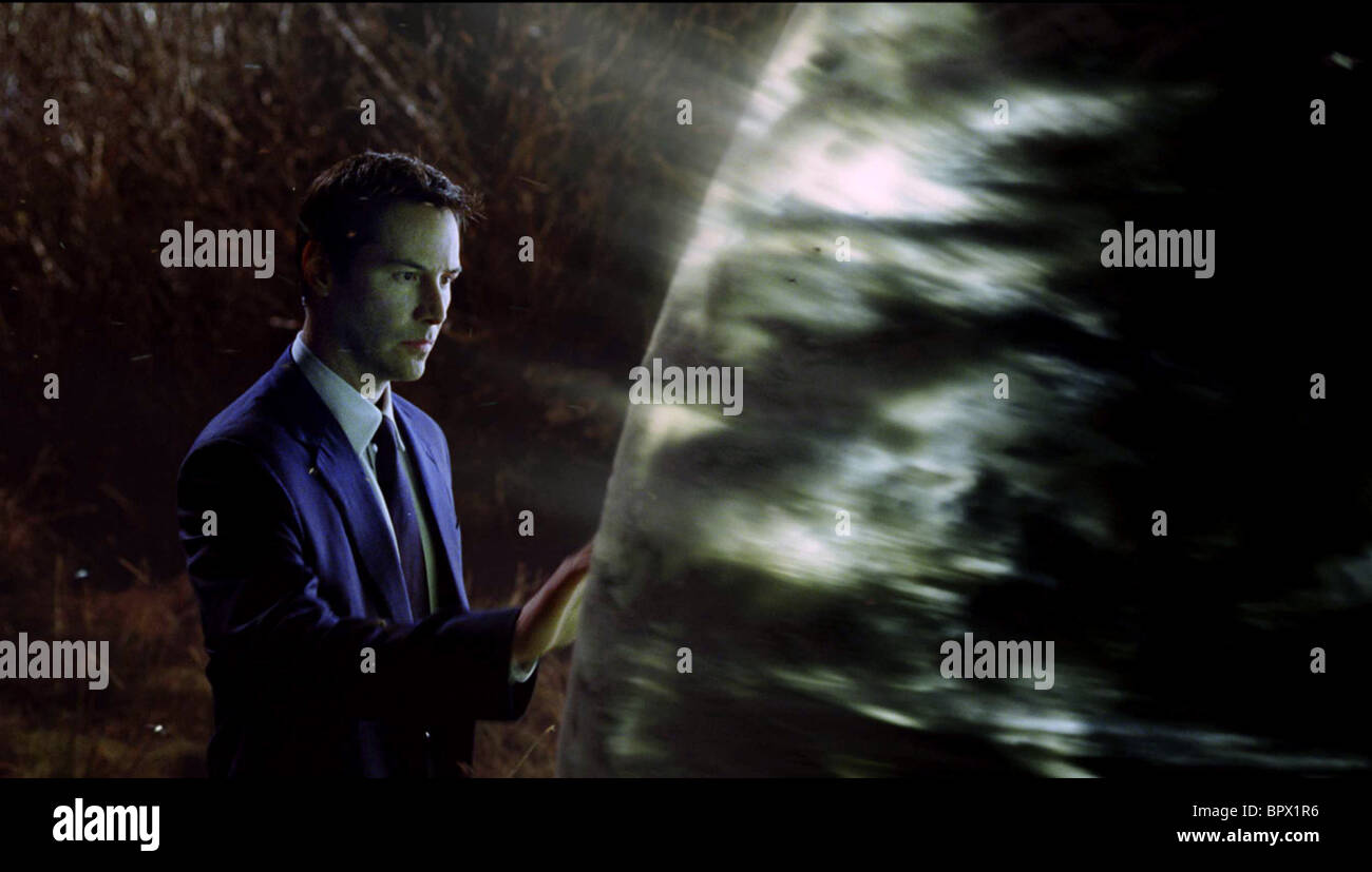KEANU REEVES THE DAY THE EARTH STOOD STILL (2008) - Stock Image