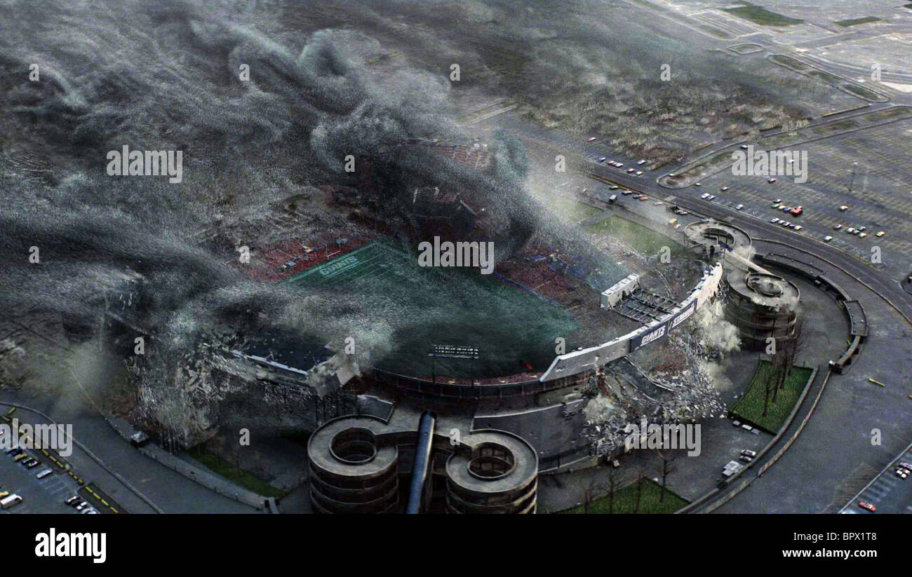 THE GIANTS STADIUM THE DAY THE EARTH STOOD STILL (2008) - Stock Image
