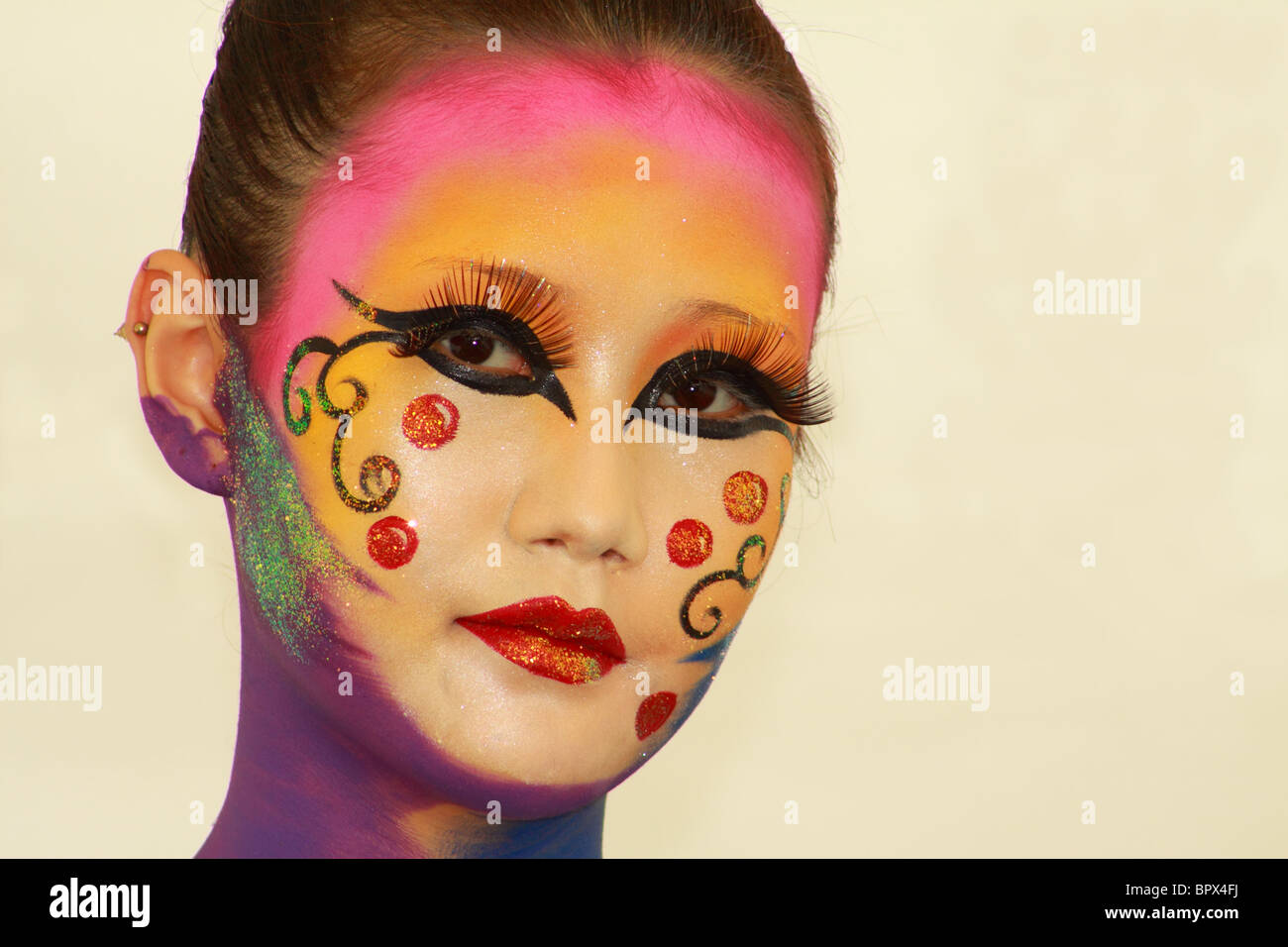 Daegu International Bodypainting Festival Stock Photo