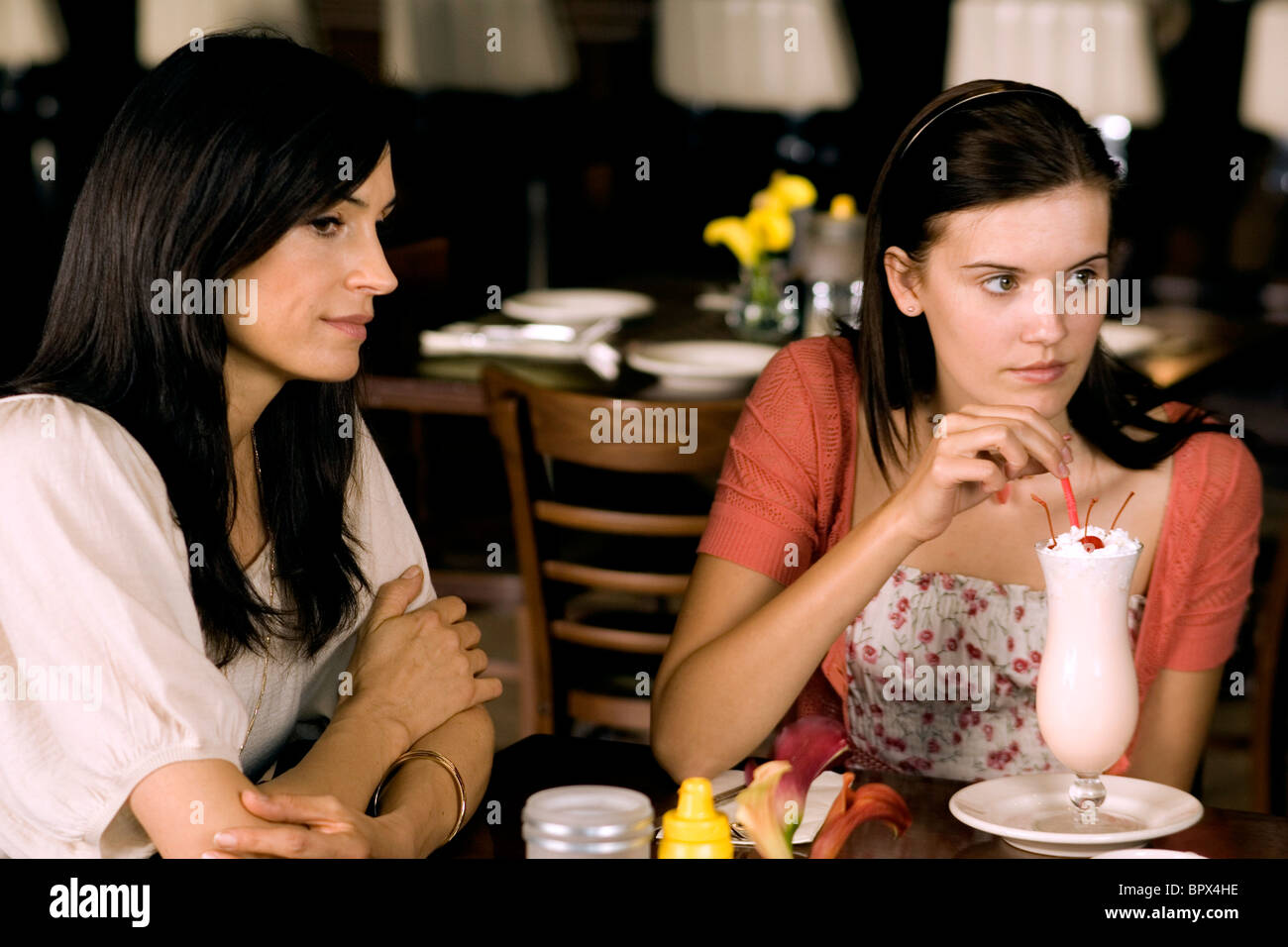 Famke Janssen Maggie Grace Taken 2008 Stock Photo Alamy