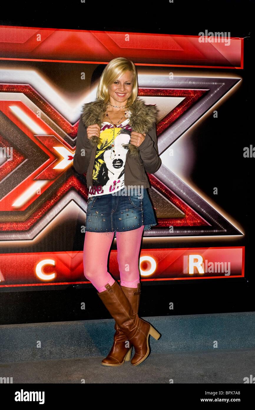 Conferenza stampa per la presentazione di X Factor, Milano, 06.09.2010. Nella foto: Antonella Elia - Stock Image