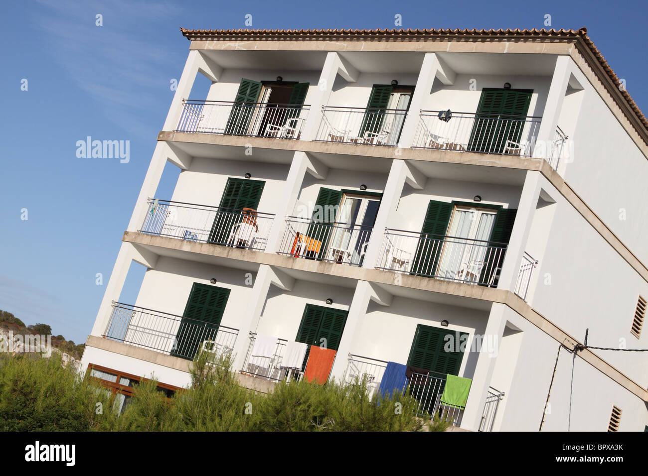 Holiday Apartment Accommodation Rooms To Rent In Spain   Stock Image