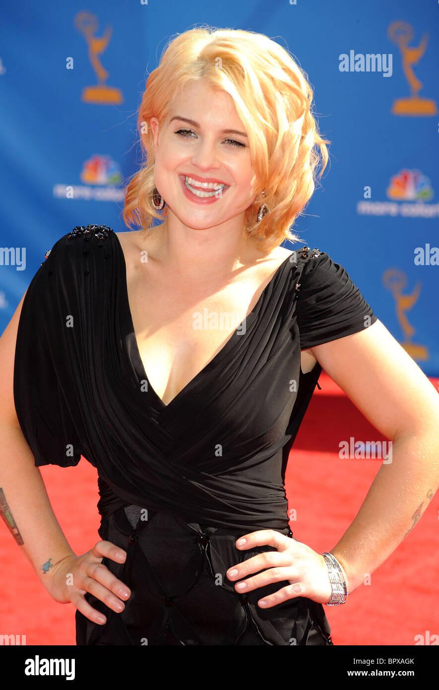 KELLY OSBOURNE at  62nd Annual Primetime Emmy Awards at Nokia LA Live August 29, 2010 in LA. Photo Jeffrey Mayer - Stock Image