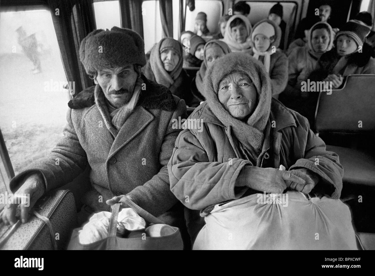 War in Chechnya, 1995 - Stock Image