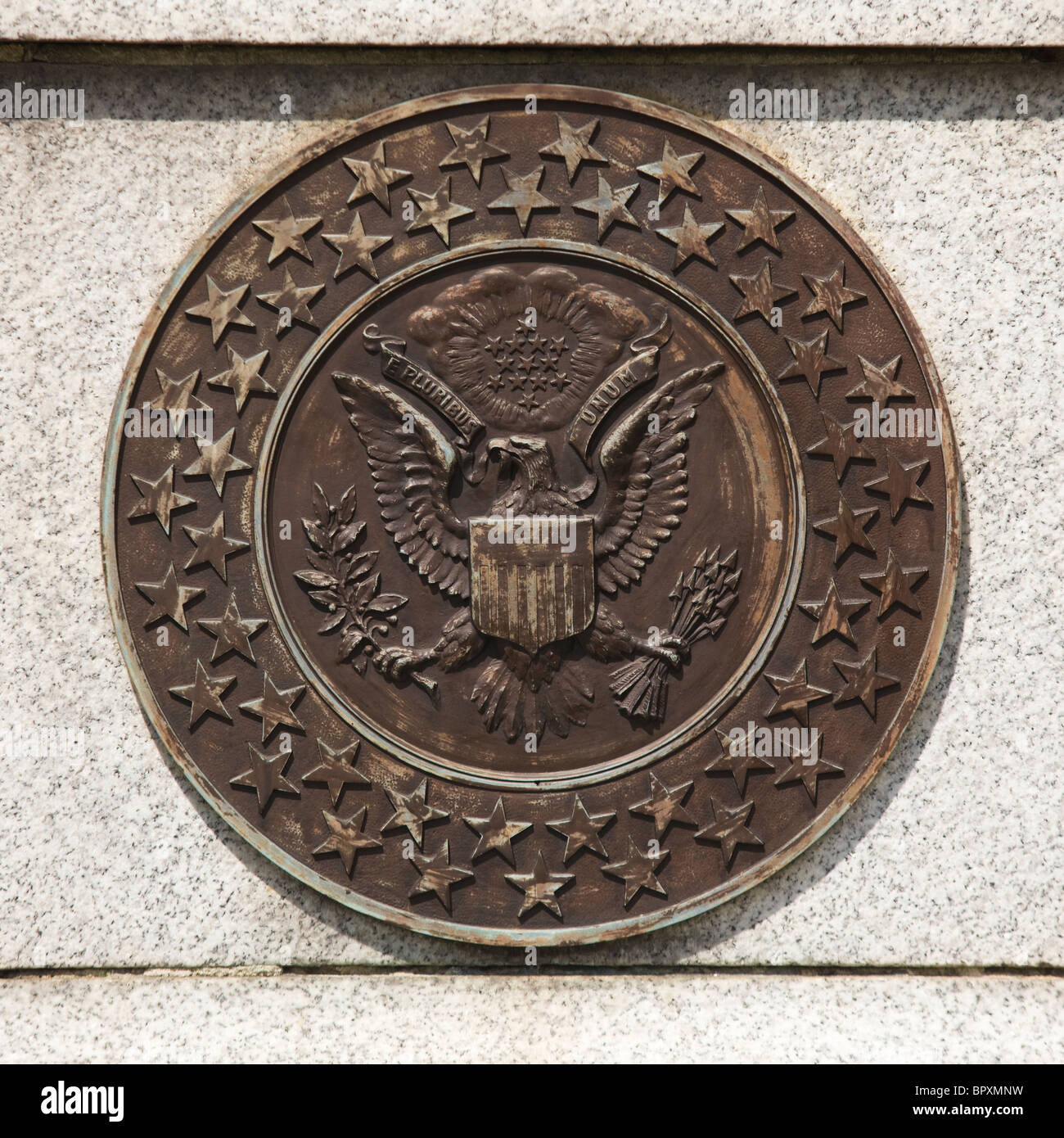 Great Seal of the United States - Stock Image