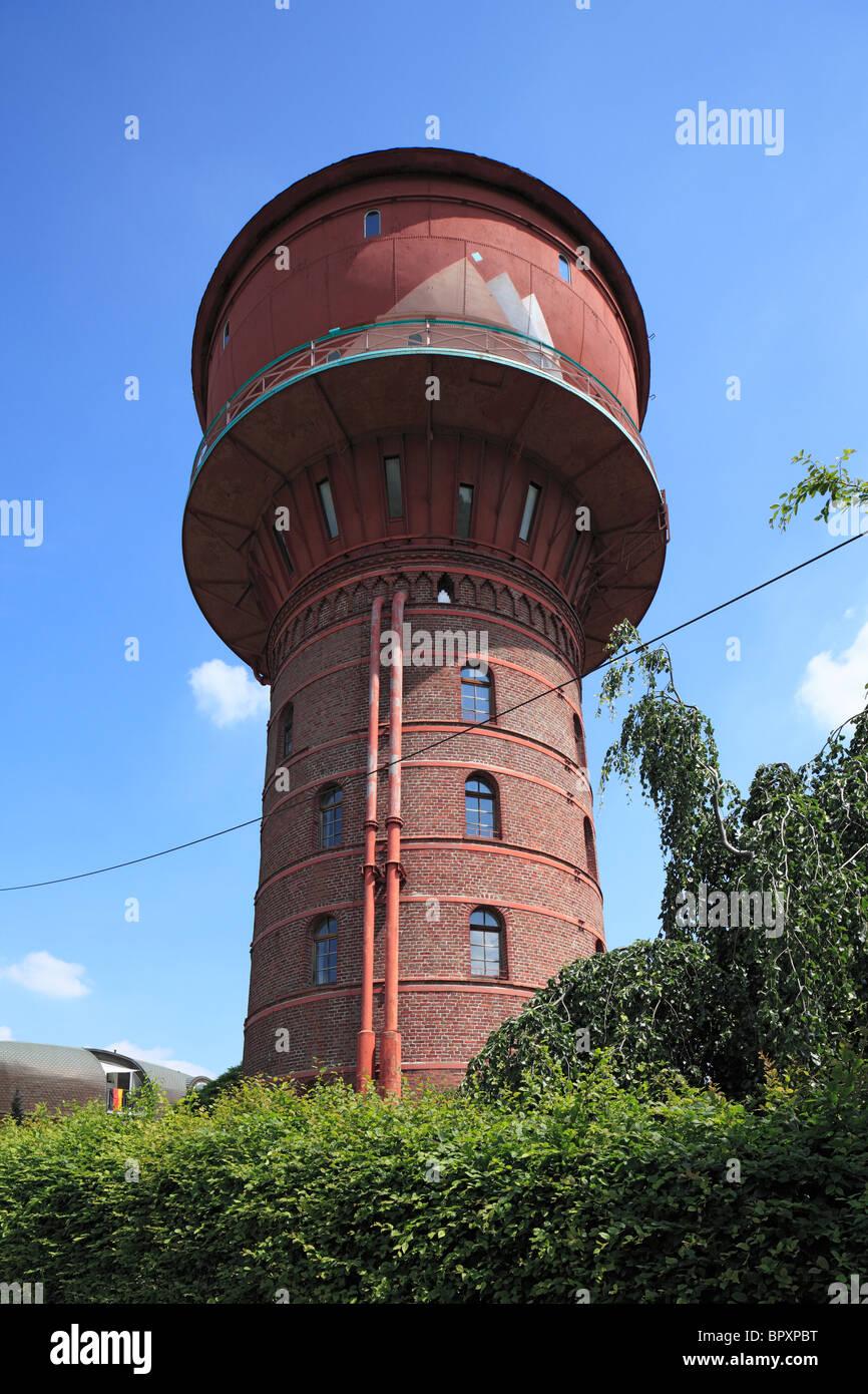 Wasserturm in Frechen-Grube Carl, Ville, Naturpark Rheinland, Nordrhein-Westfalen - Stock Image