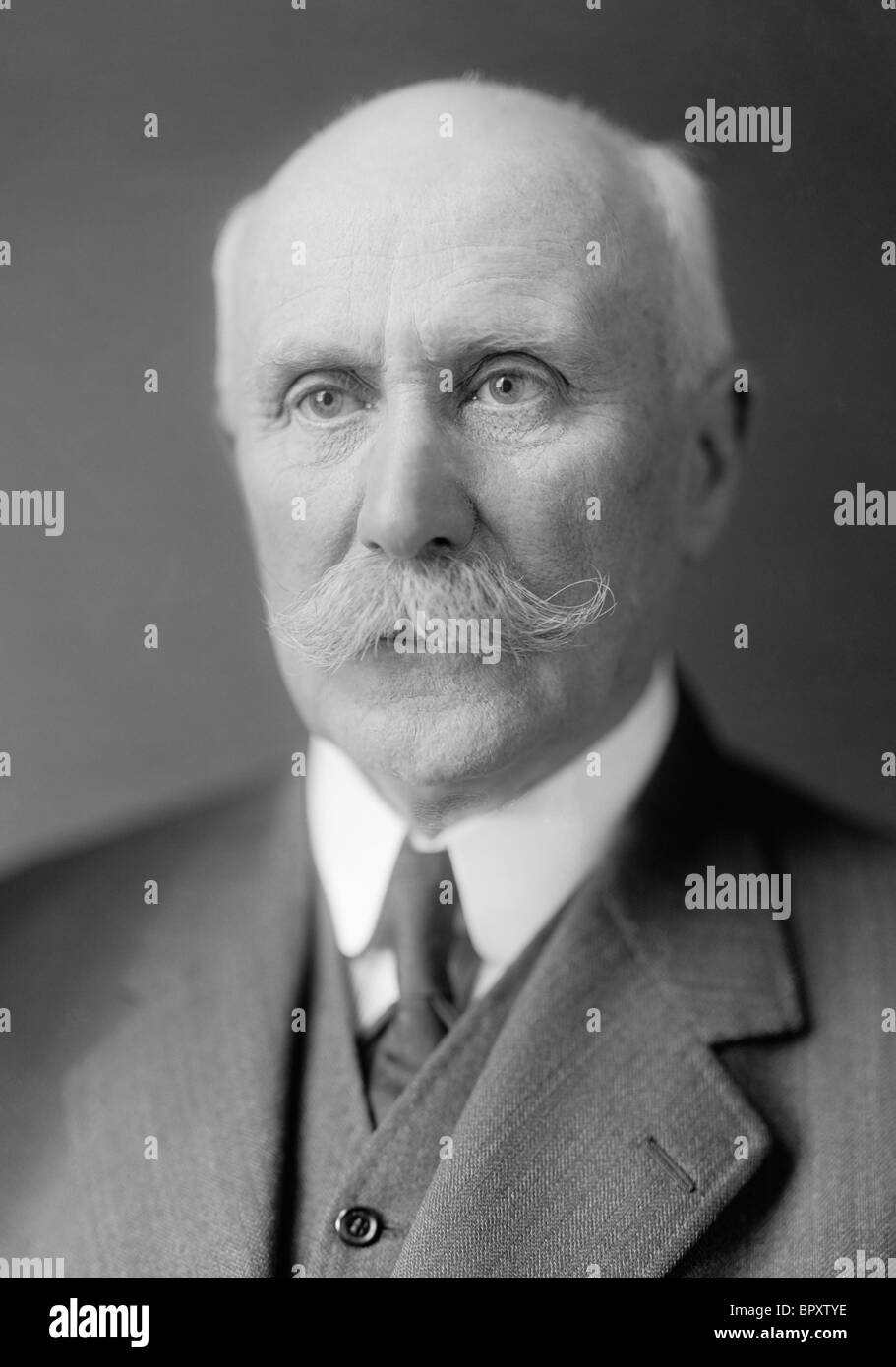 Marshal Henri Philippe Pétain (1856 - 1951) - the French General who went from being 'Hero of Verdun' - Stock Image