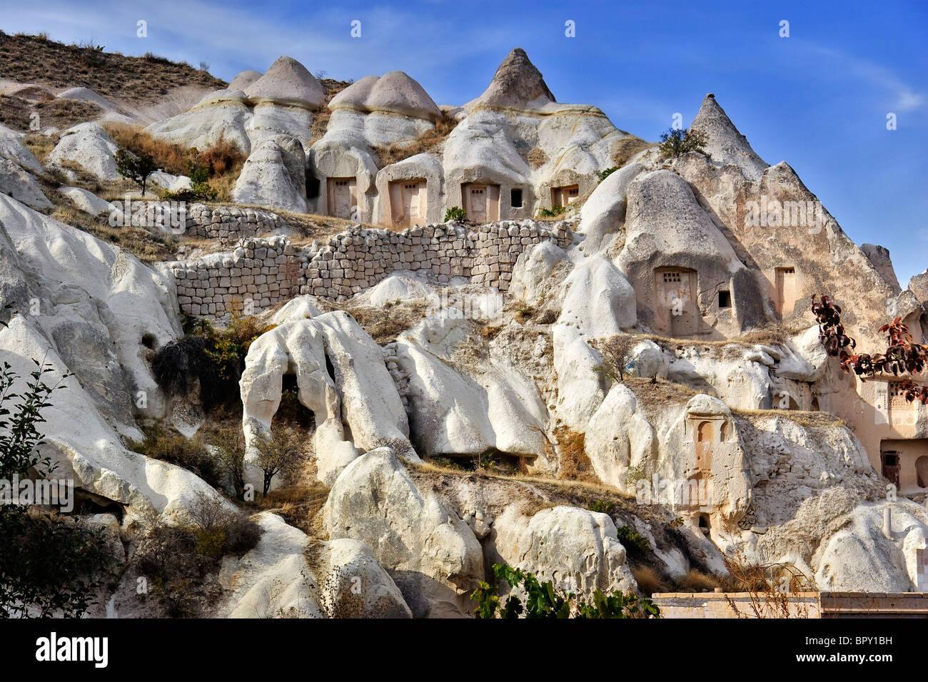 Cave Dwellings Cappadocia Turkey Stock Photo 31326613 Alamy