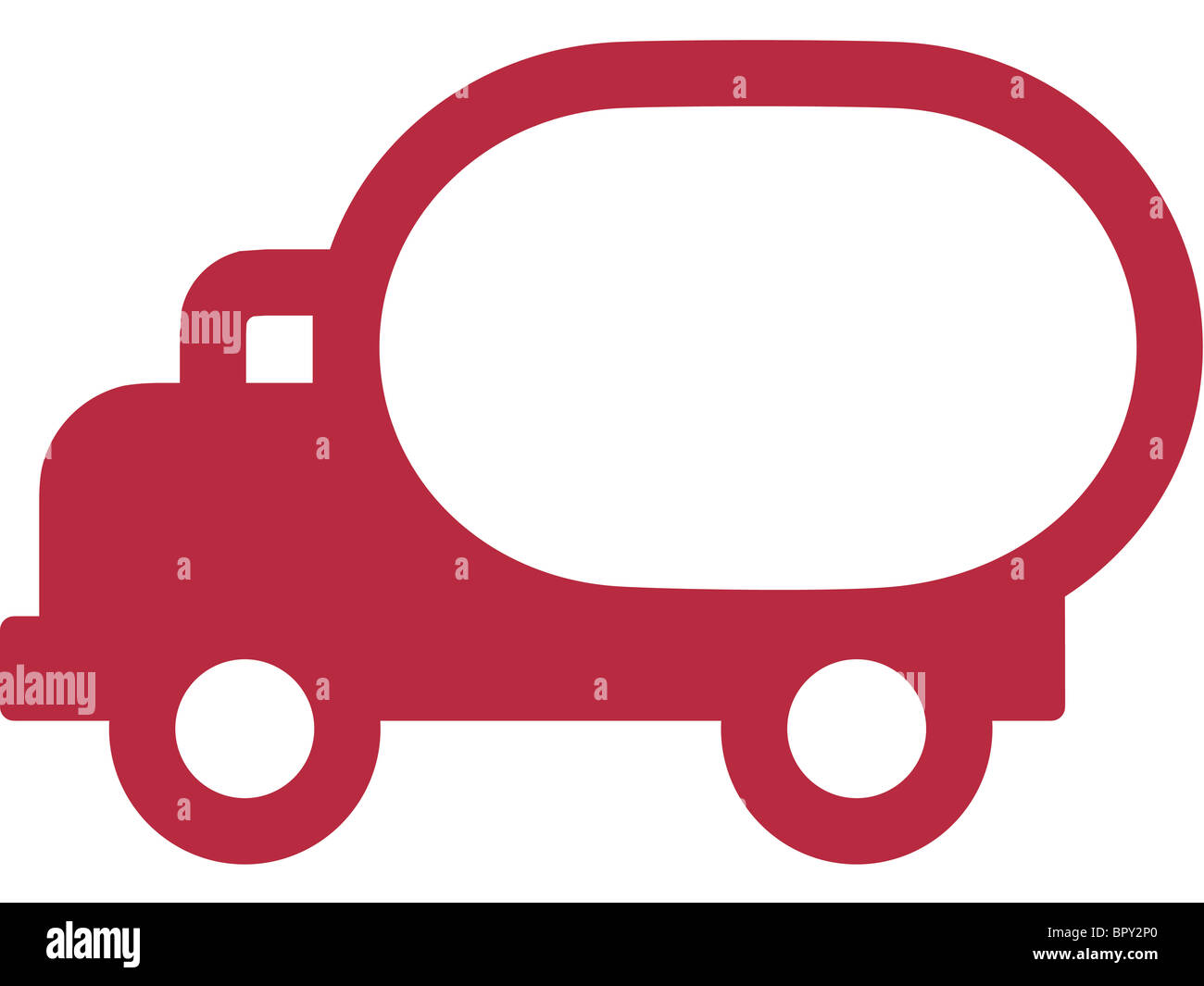 A picture of a truck - Stock Image