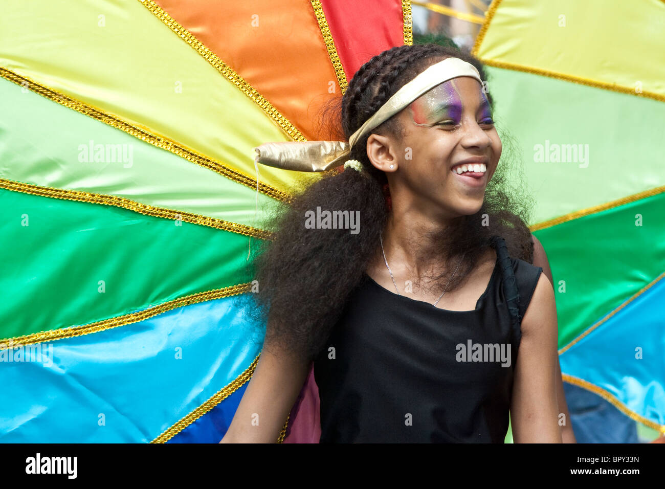 Notting Hill Carnival 2010, London, England Stock Photo