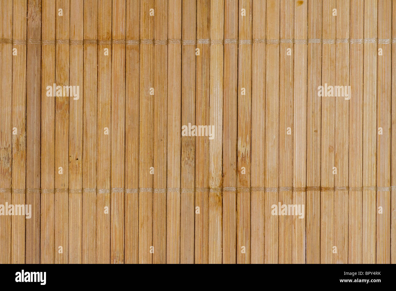Bamboo background board. horizontal pattern. nice texture. - Stock Image