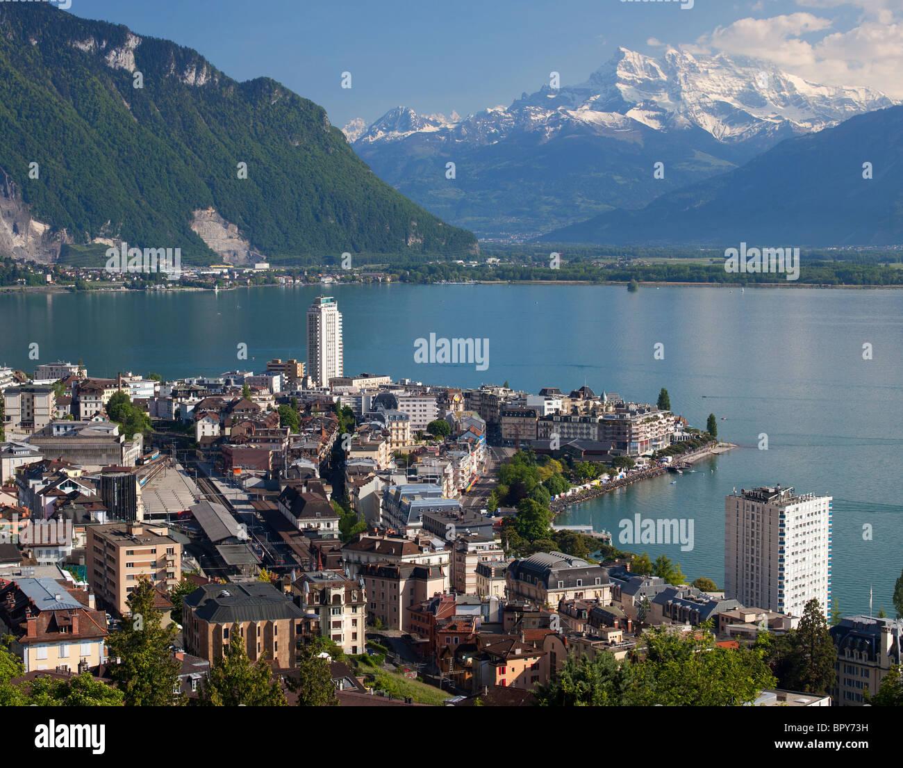 Montreux, Switzerland - Stock Image