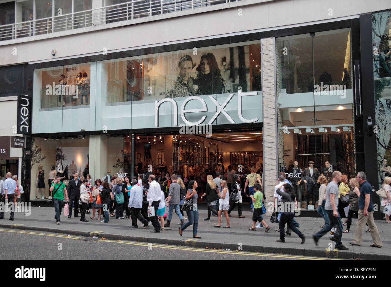 Street View Of The Next Clothing And Fashion Store On