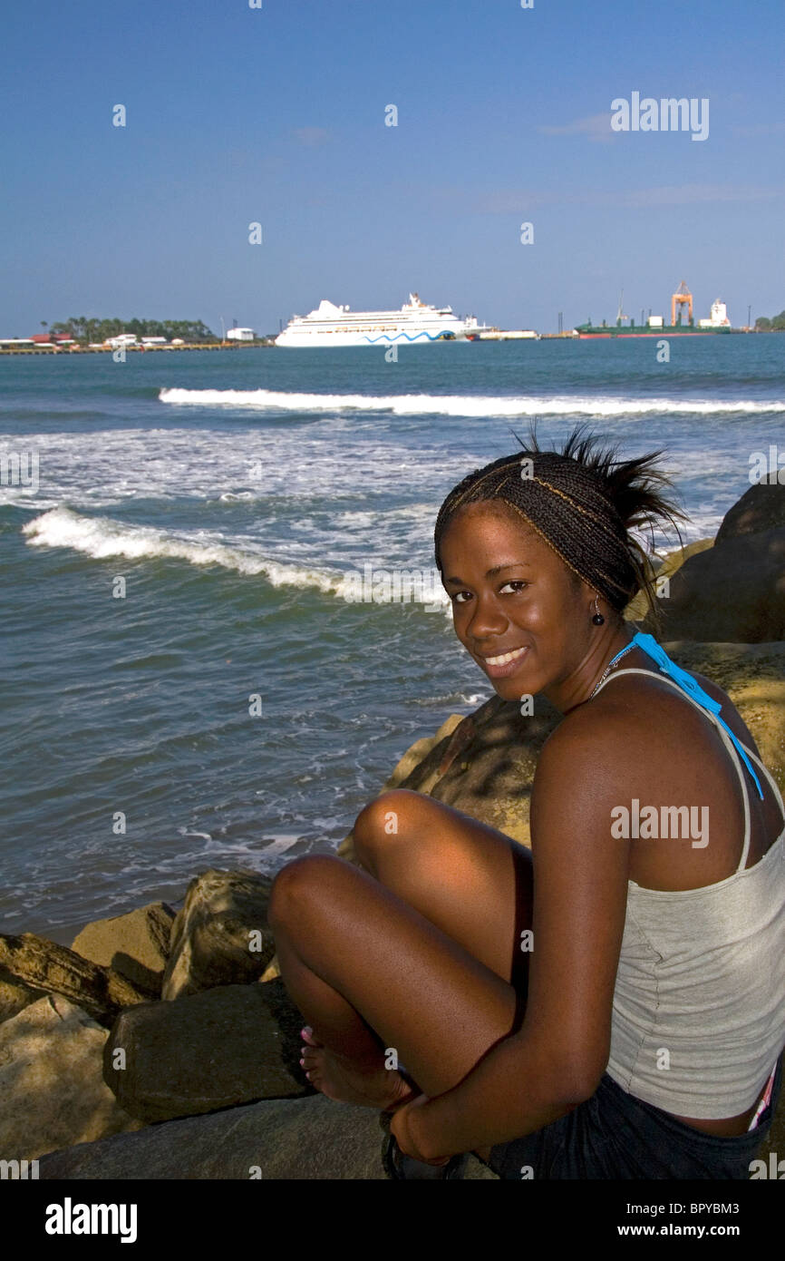 Cruise Ship Caribbean Stock Photos Amp Cruise Ship Caribbean Stock Images Alamy