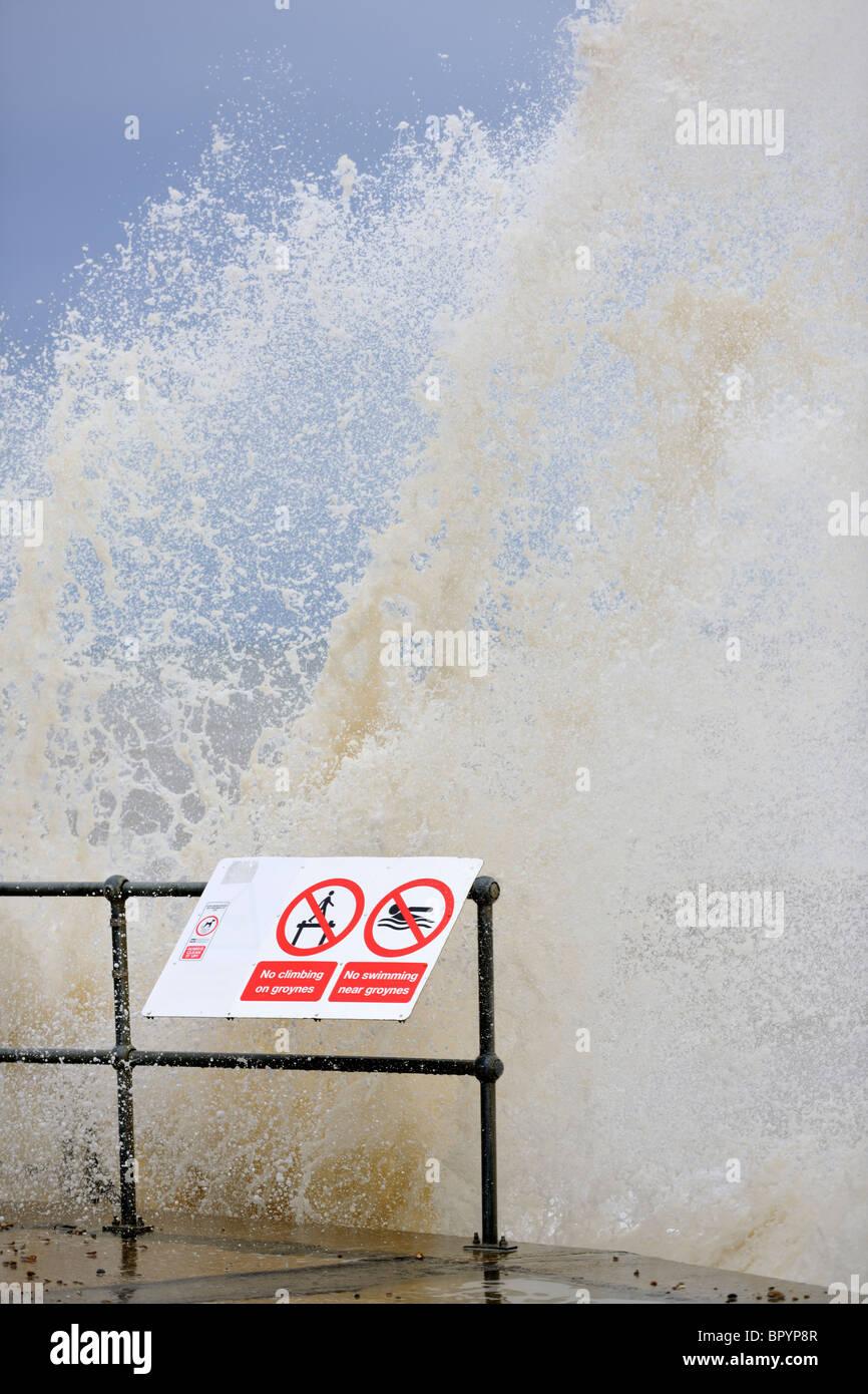 Rough Sea - Stock Image