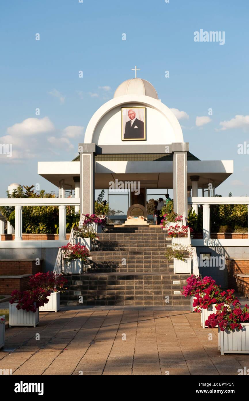 Mausoleum to HE DR Kamuzu Hastings Banda, Lilongwe, Malawi Stock Photo