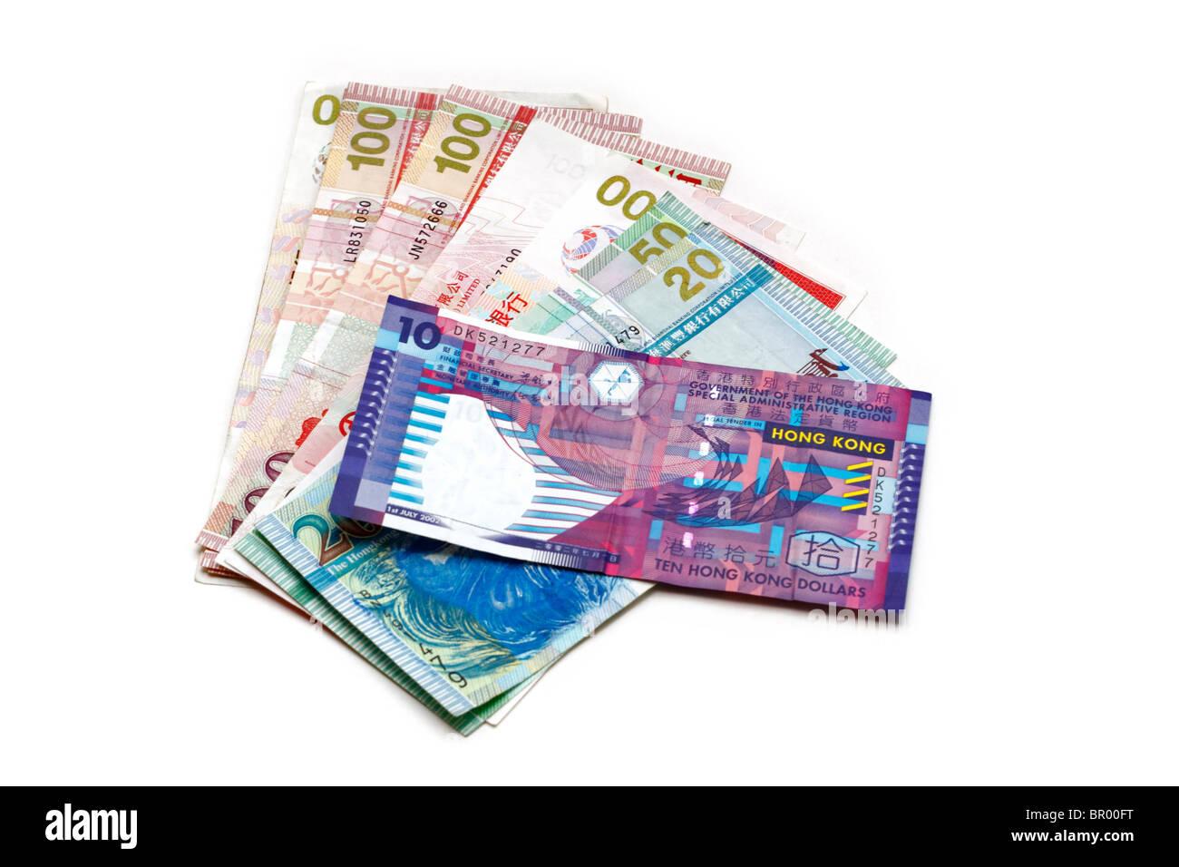 Hong Kong Dollars - Stock Image