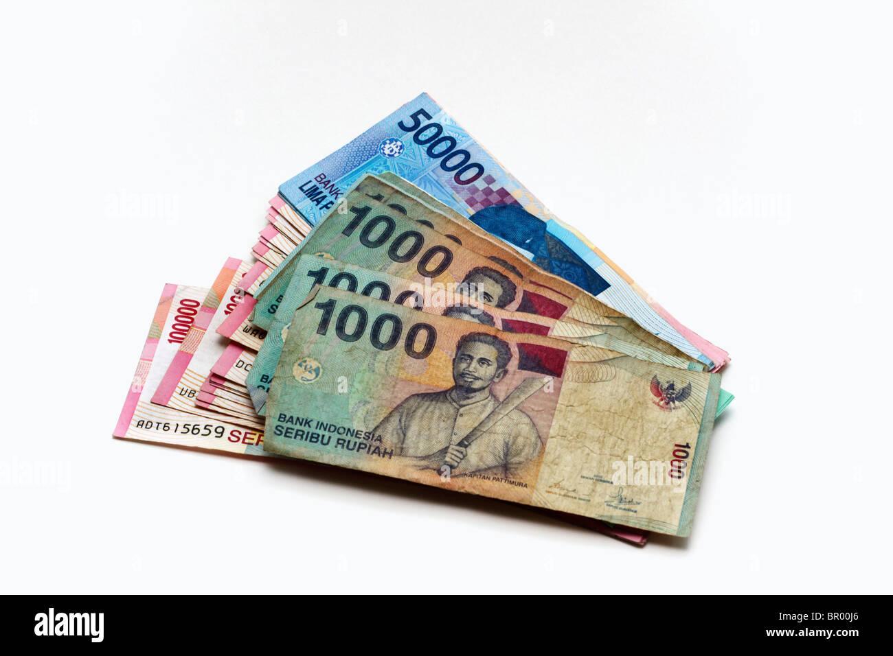 Indonesian Rupiah Stock Photo