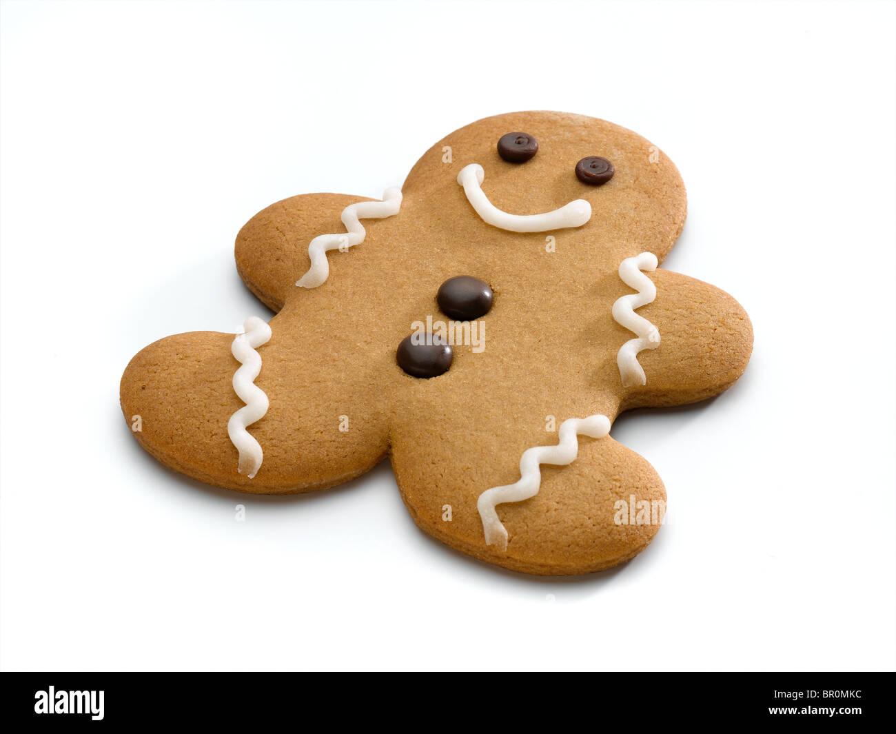 gingerbread man - Stock Image