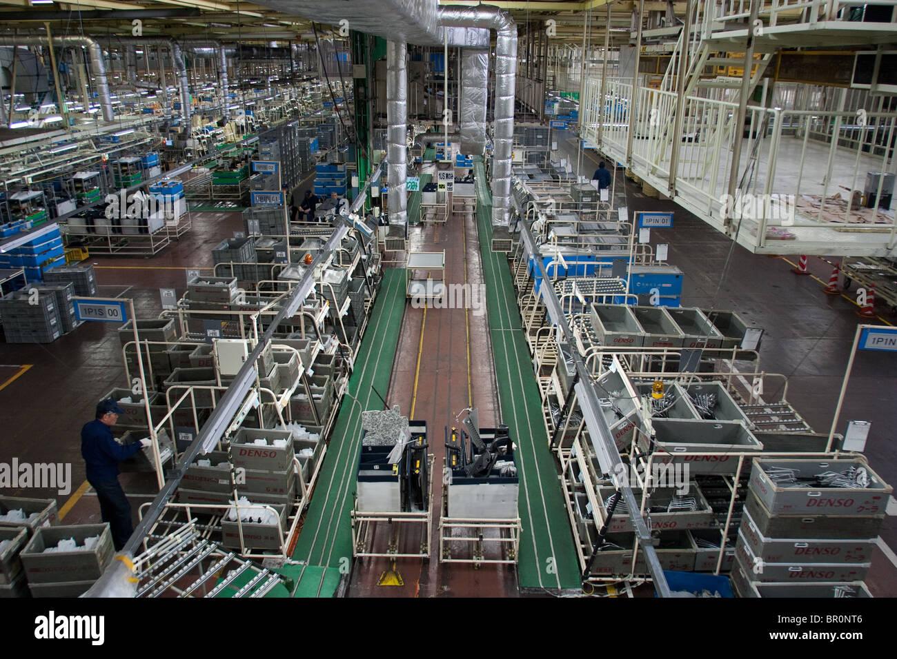 The Toyota Tsutsumi Car Production Line Factory Near