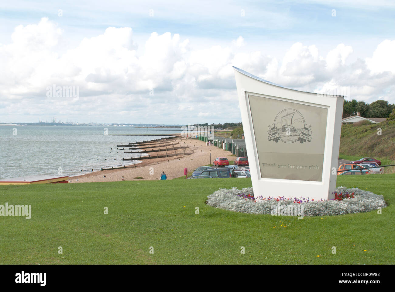 Lee on Solent - Stock Image