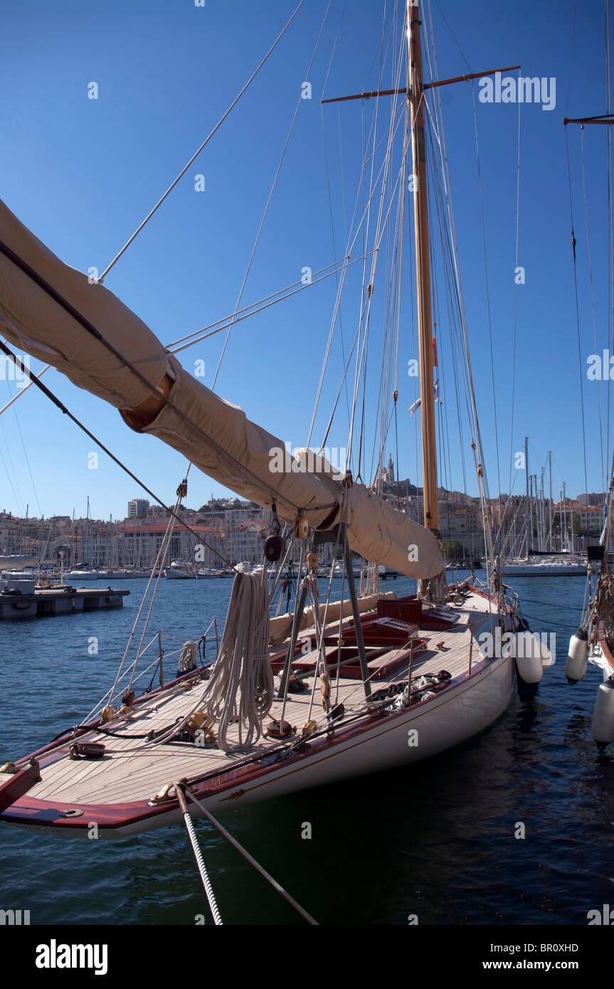 Marseille : Regatta 'Les Voiles de Marseille' - Stock Image