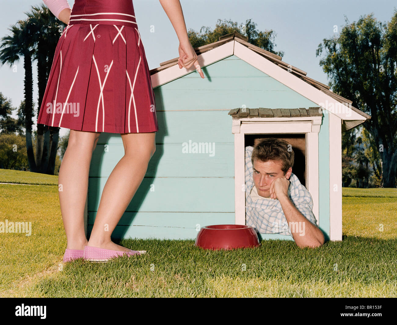 Doghouse High Resolution Stock Photography and Images - Alamy
