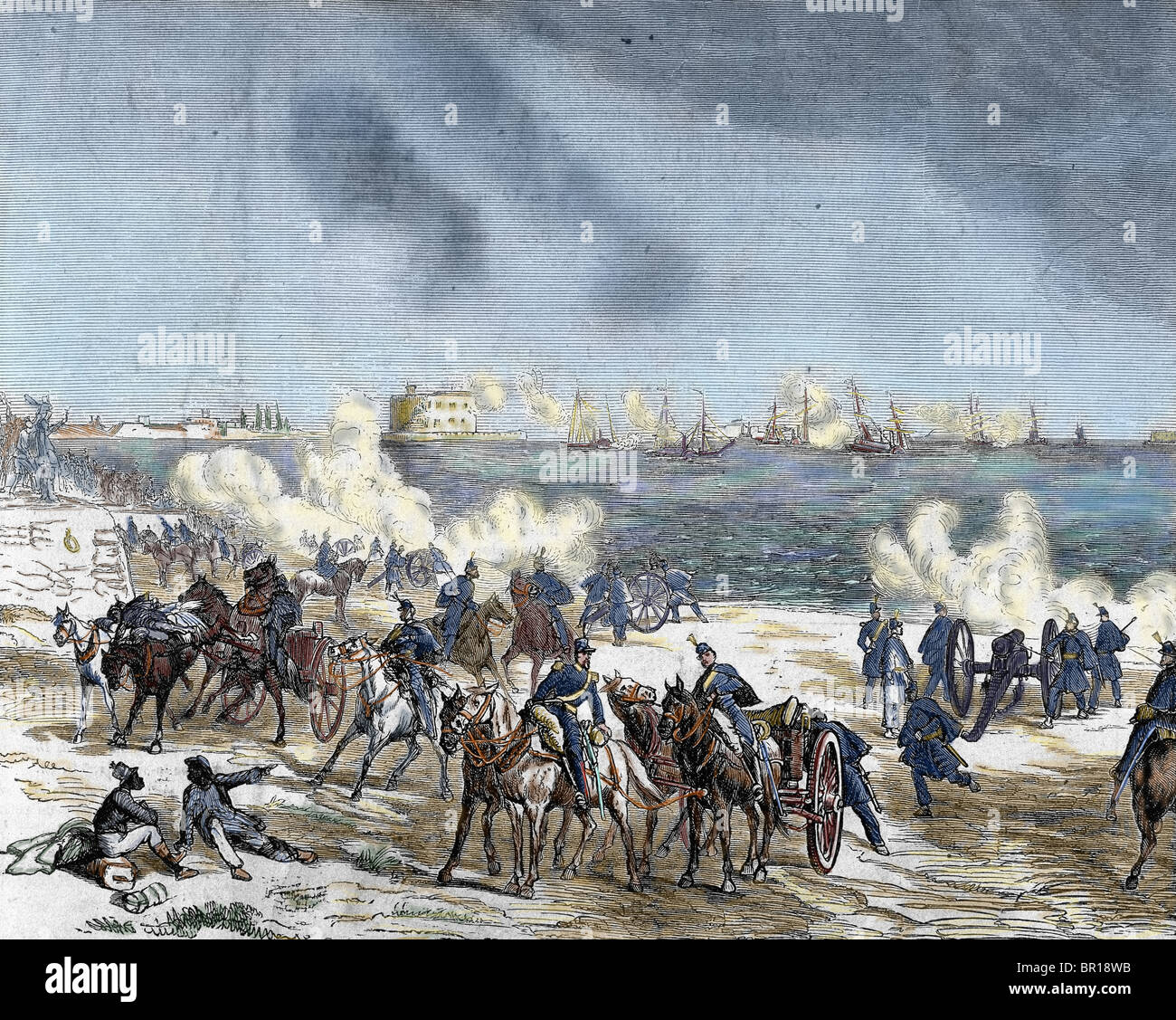 United States. The American Civil War (1861-1865). - Stock Image