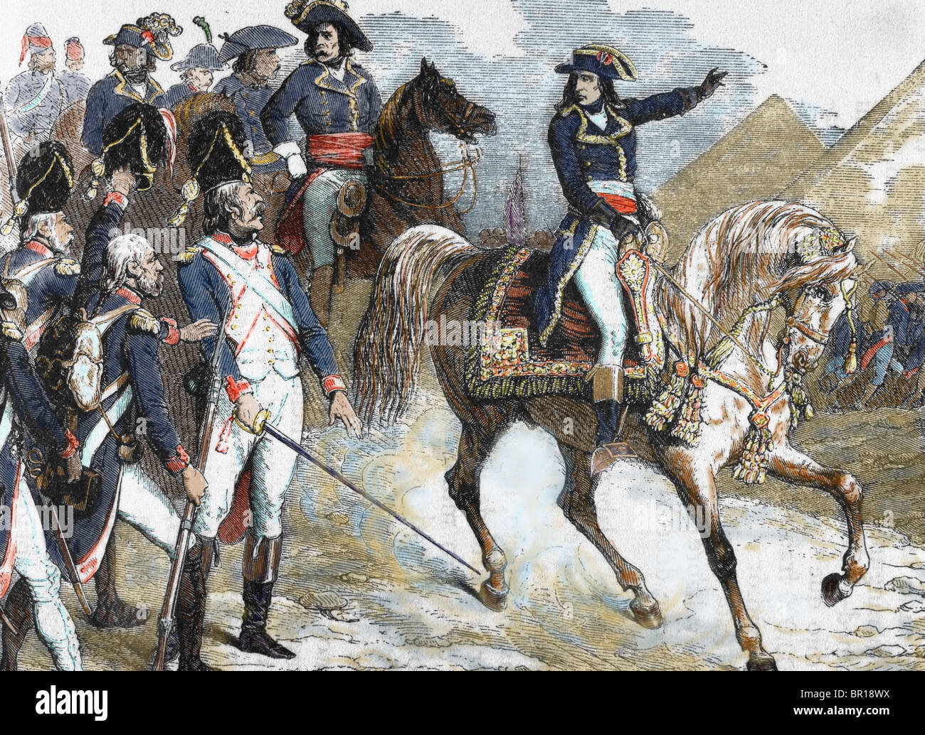 Napoleon Bonaparte Horse High Resolution Stock Photography And Images Alamy