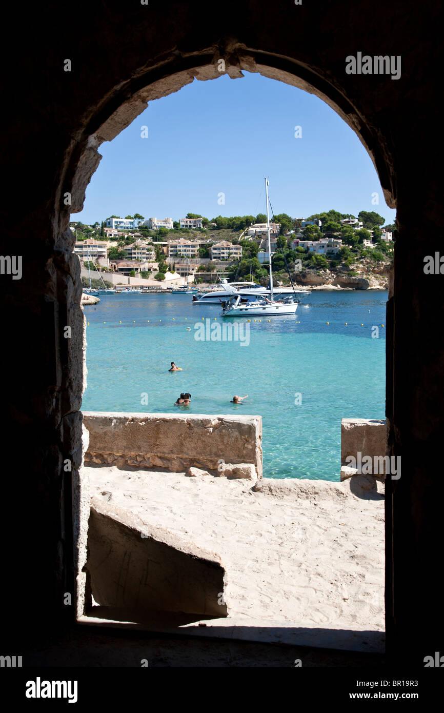 Portals Vells. Mallorca Island. Spain - Stock Image