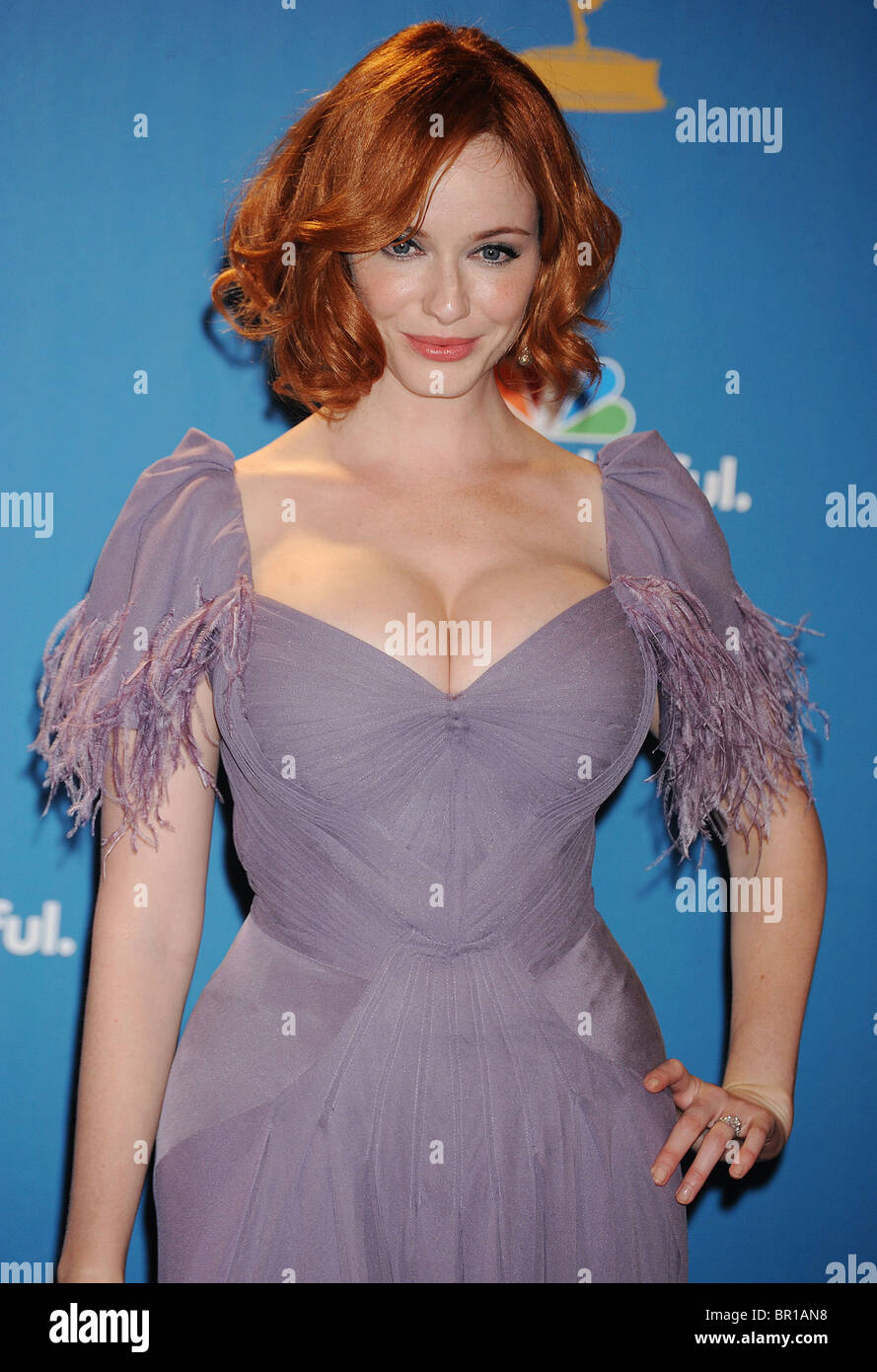 CHRISTINA HENDRICKS - US actress in August 2010. Photo Jeffrey Mayer - Stock Image