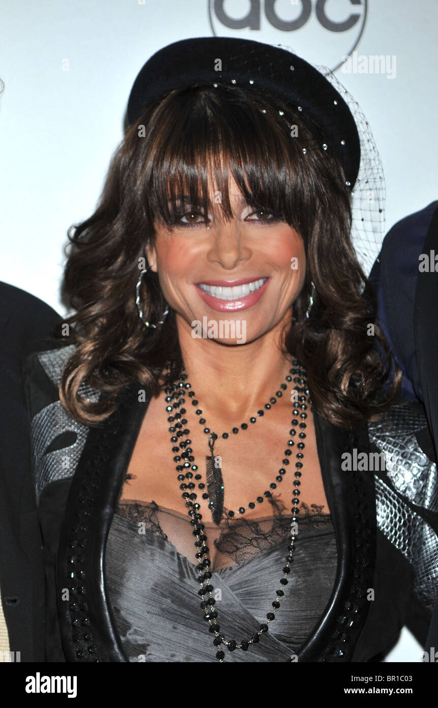 PAULA ABDUL at the Beverly Hills Hotel on October 13, 2009 in LA. Photo Jeffrey Mayer - Stock Image
