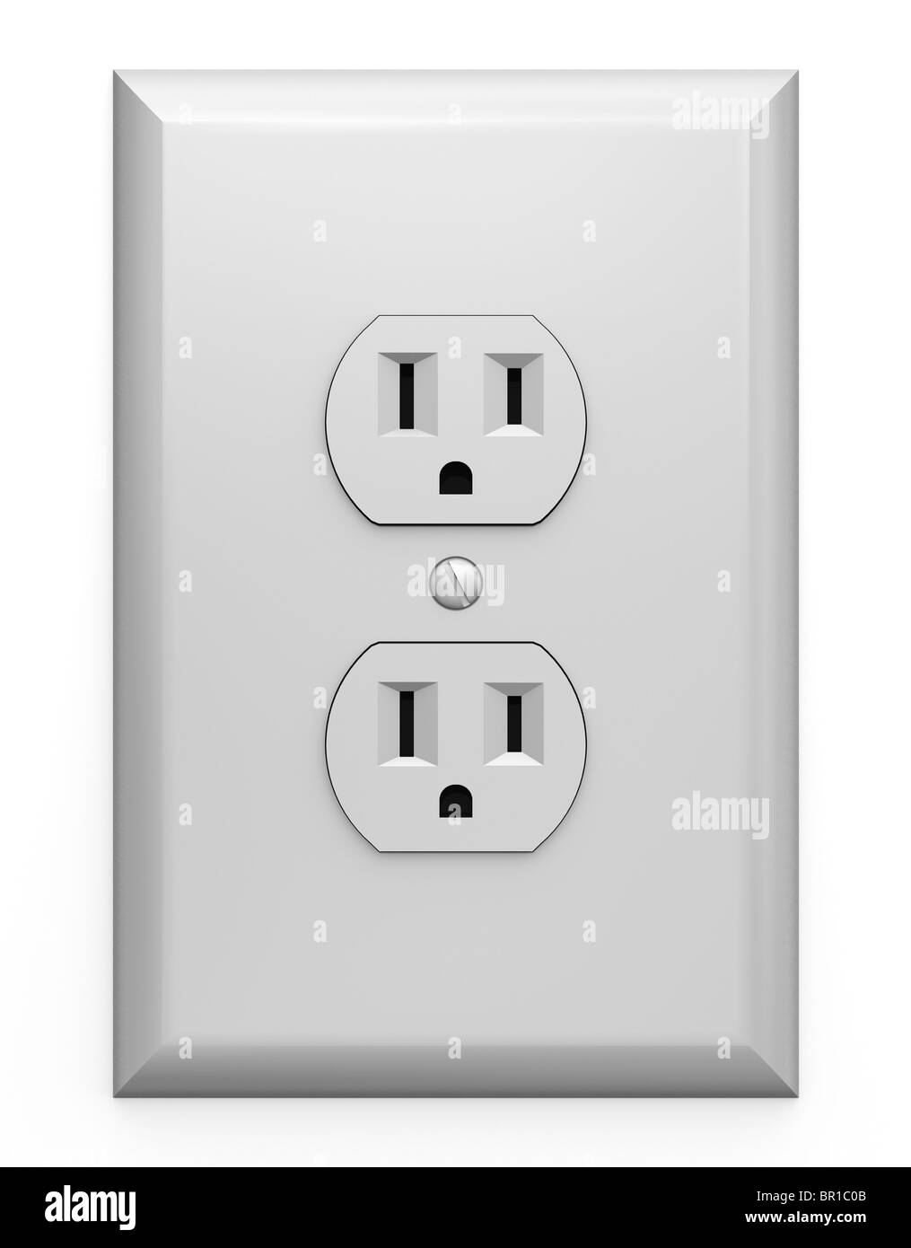 Outlet Black and White Stock Photos & Images - Alamy