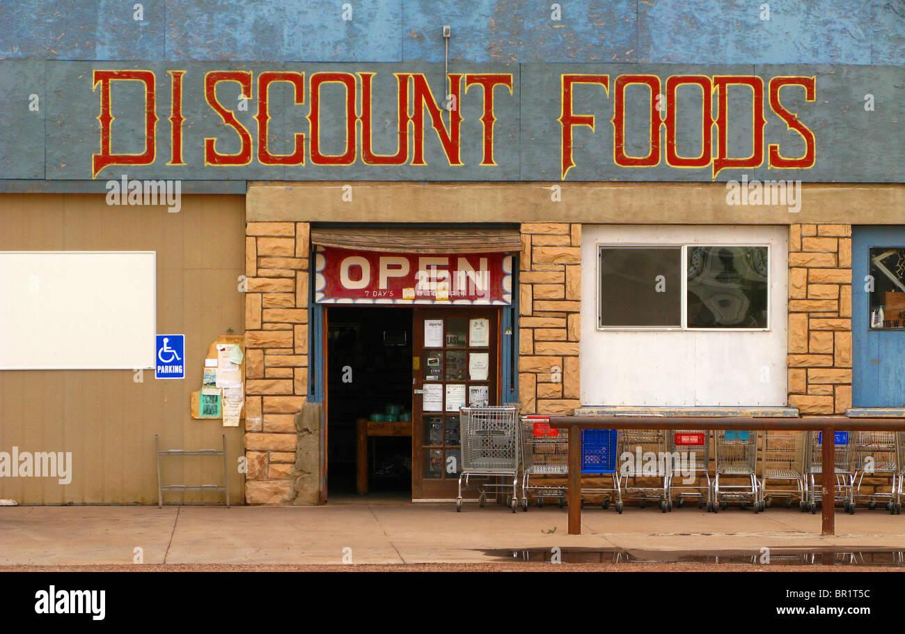 'Discount Foods' - Stock Image