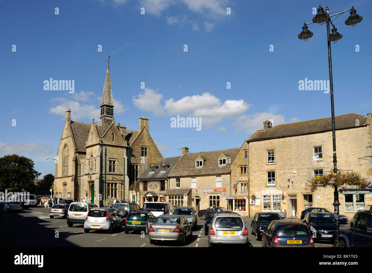St Edwards Hall Stow on the Wold The Cotswolds Stock Photo