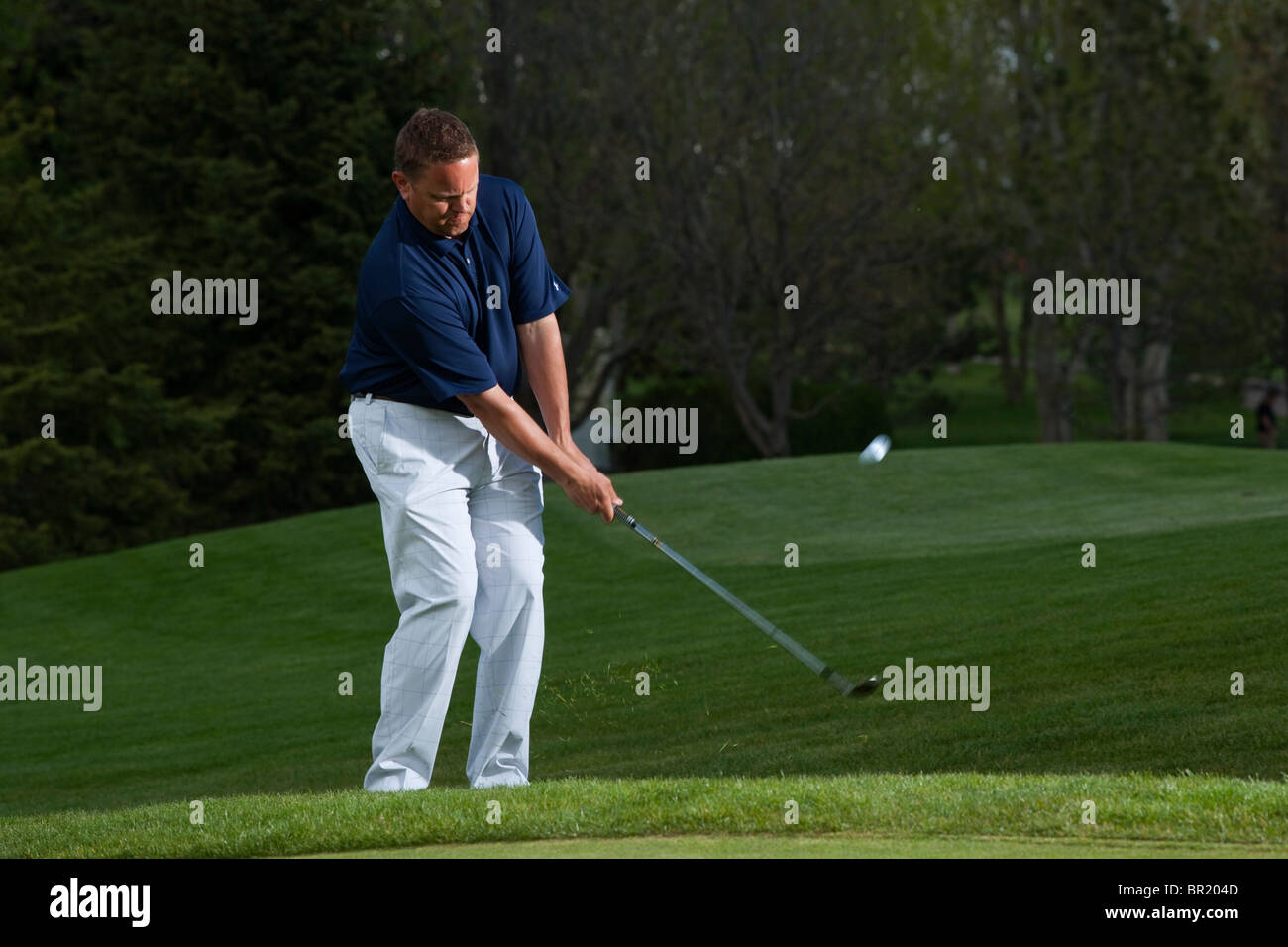 Dave McCleave PGA Professional at Southridge Golf Course Fort Collins, Colorado. - Stock Image